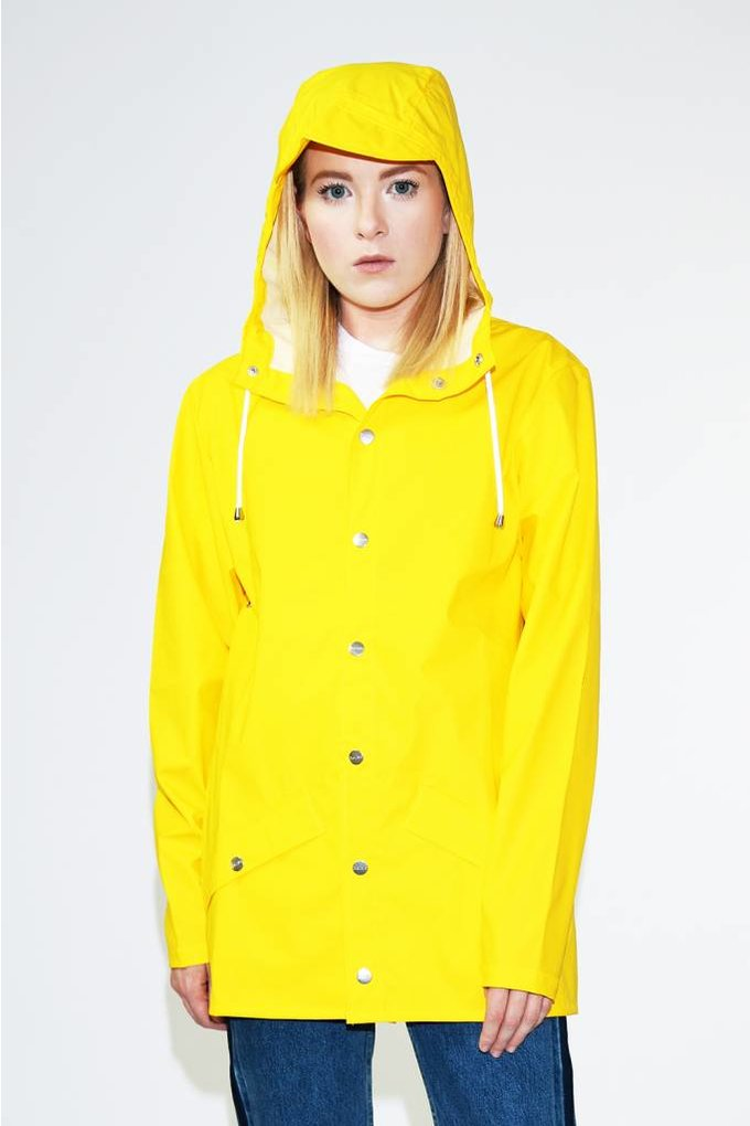 Rains Rains Jacket in Yellow