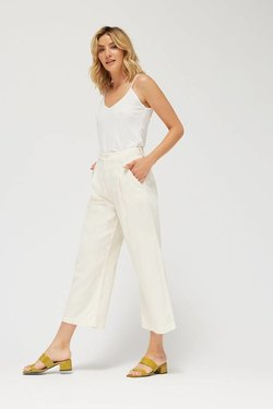 Lacausa Lola Trousers in Parchment