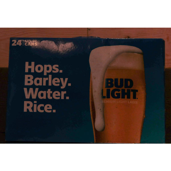 BUD LIGHT CANS 24PK