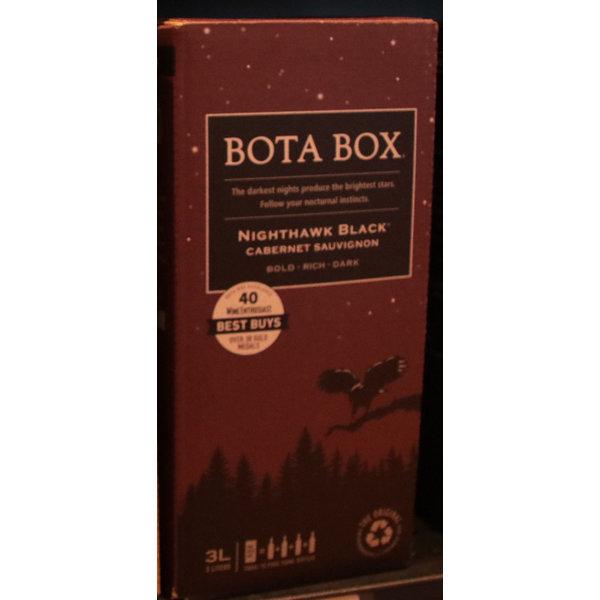 BOTA BOX NIGHTHAWK BLACK CABERNET BLEND 3L