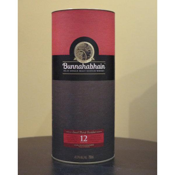 BUNNAHABHAIN 12 YEAR SCOTCH UNPEATED ISLAY 750ML