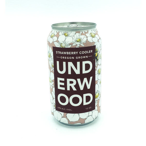 UNDERWOOD STRAWBERRY COOLER CANS 375ml
