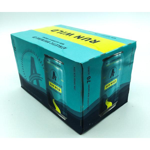 Athletic Brewing ATHLETIC BREWING RUN WILD N/A IPA 6PK