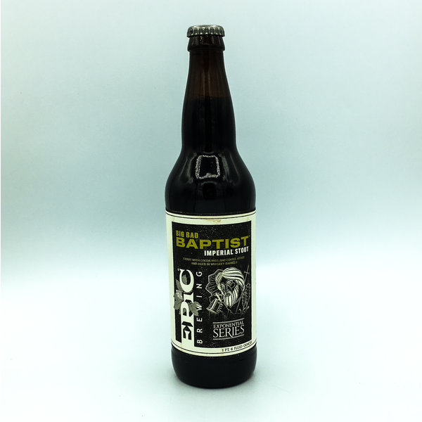 Epic Brewing EPIC BREWING BIG BAD BAPTIST IMPERIAL STOUT 22OZ
