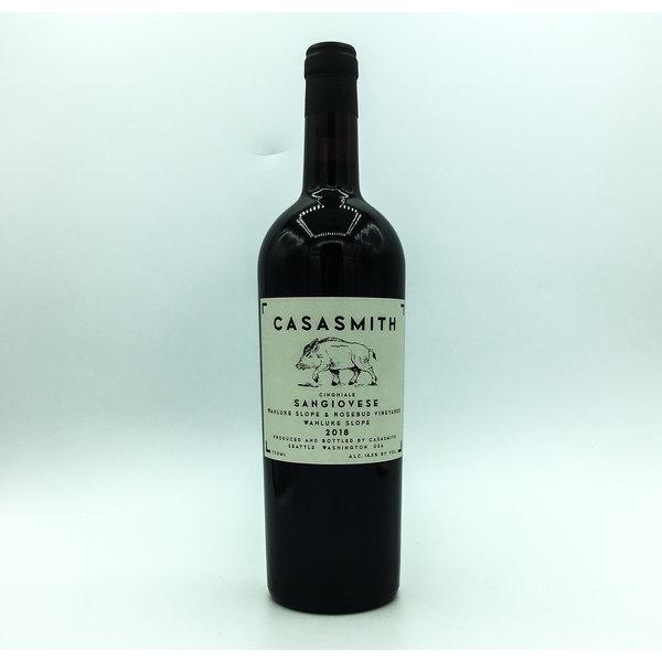 CASASMITH SANGIOVESE 'CINGHIALE' WAHLUKE SLOPE 750ML