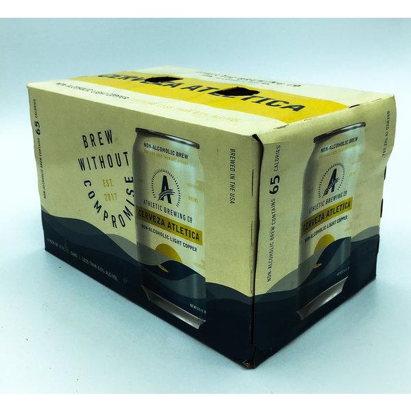 Athletic Brewing ATHLETIC BREWING CERVEZA ATHLETICA COPPER N/A 6PK