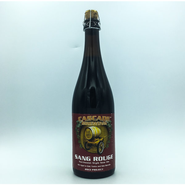 Cascade Brewing CASCADE SANG ROUGE NW SOUR 750ML