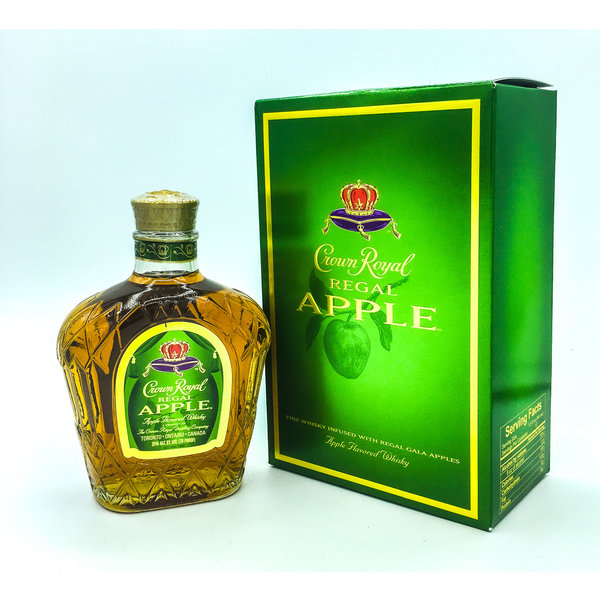 CROWN ROYAL 'REGAL APPLE' CANADIAN WHISKY 750ML