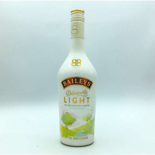 BAILEYS 'DELICIOUSLY LIGHT' IRISH CREAM 750ML