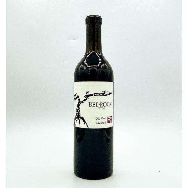 Bedrock Wine Co. BEDROCK OLD VINE ZINFANDEL 2018 SONOMA 750ML