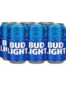 BUD LIGHT CANS 6PK