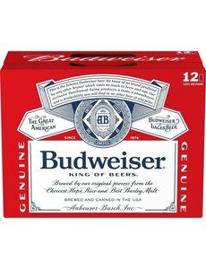 BUDWEISER CANS 12PK