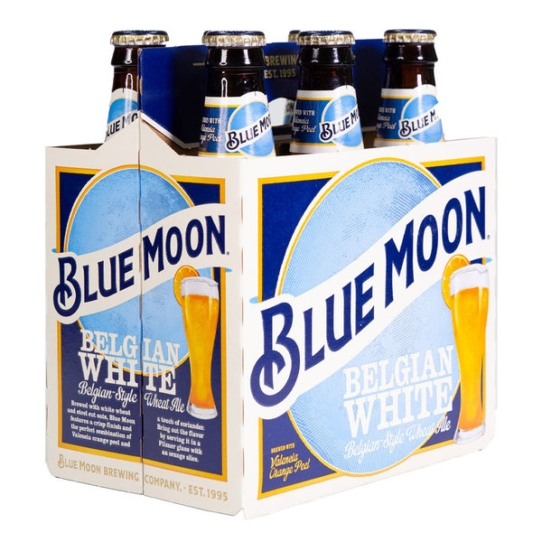 Blue Moon Brewing BLUE MOON WHITE 12OZ BTL 6PK