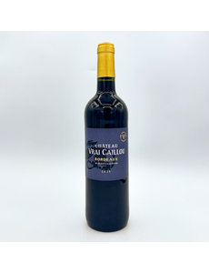 CHÂTEAU VRAI CAILLOU RED BORDEAUX NATURE NO ADDED SULFITES 750ML