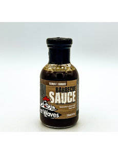 Flat Waves FLAT WAVES ALMOST FAMOUS BBQ SAUCE 8 OZ.