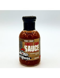 Flat Waves FLAT WAVES ALMOST FAMOUS SWEET CHILI SAUCE 8 OZ.