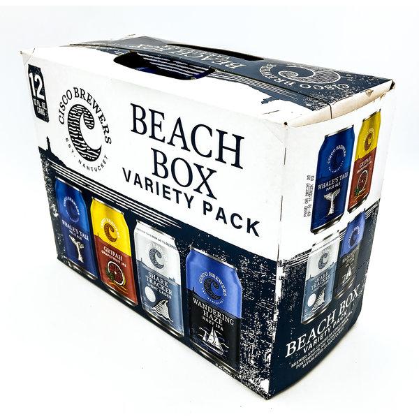 Cisco Brewers CISCO BREWERS BEACH BOX VARIETY 12PK CANS