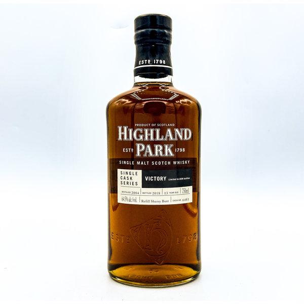 HIGHLAND PARK 'VICTORY' 13YR SINGLE CASK SINGLE MALT SCOTCH WHISKY 750ML