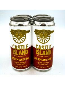 CASTLE ISLAND BOHEMIAN SHINE PILS 4PK