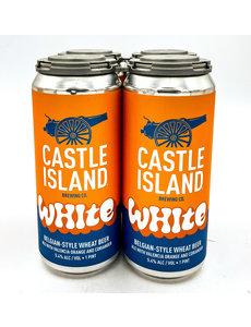 CASTLE ISLAND WHITE ALE 4PK
