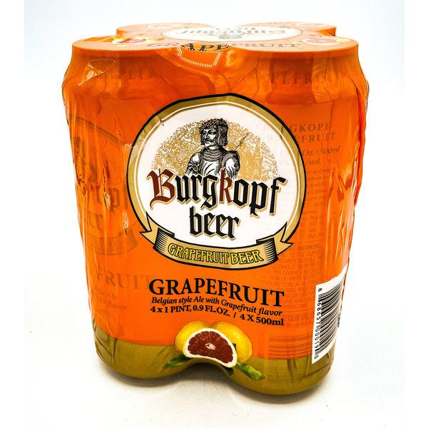 BURGKOPF BELGIAN GRAPEFRUIT BEER 4PK