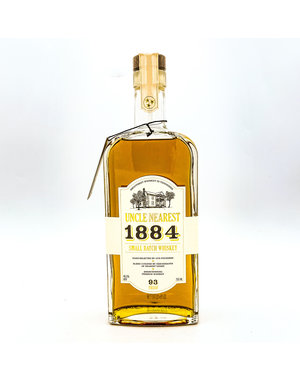 UNCLE NEAREST '1884' SMALL BATCH WHISKEY SOUR MASH 750ML