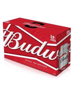 BUDWEISER CANS 24PK
