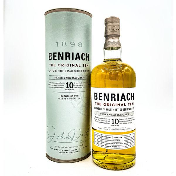 Benriach BENRIACH 'THE SMOKY TEN' 10YR SINGLE MALT SPEYSIDE 750ML