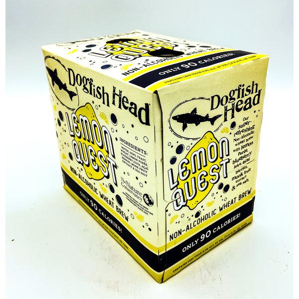 DOGFISH HEAD LEMON QUEST LEMON BLUEBERRY ACAI N/A WHEAT BREW 4PK