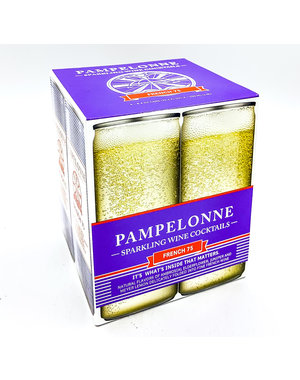 PAMPELONNE 'FRENCH 75' GIN & BUBBLY 4PK