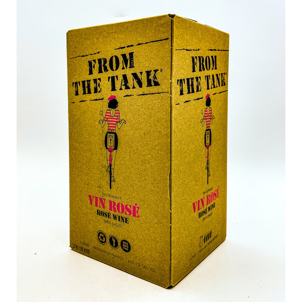 FROM THE TANK FRENCH ROSE 3L BOX