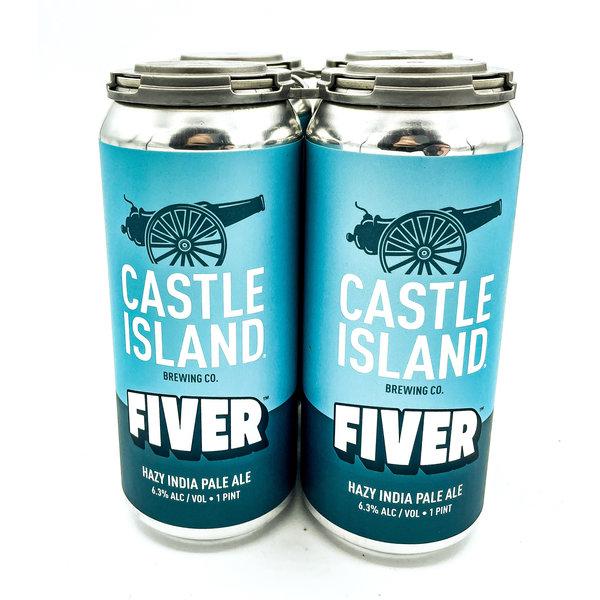 Castle Island Brewing CASTLE ISLAND FIVER IPA 4PK
