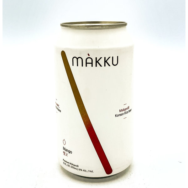 MAKKU MANGO MAKGEOLLI KOREAN RICE BEER 12OZ