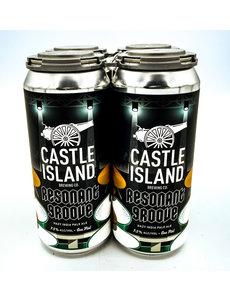 CASTLE ISLAND RESONANT GROOVE HAZY IPA ZILDJIAN COLLAB. 4PK