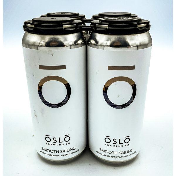OSLO SMOOTH SAILING MANGO PASSIONFRUIT PEACH SOUR ALE 4PK