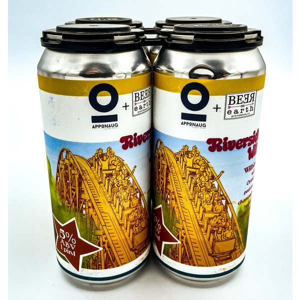 APPONAUG RIVERSIDE WIT COLLAB W/ BEER ON EARTH 4PK