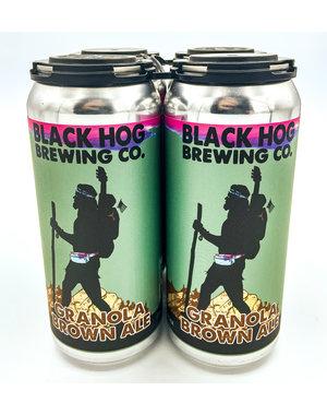 BLACK HOG GRANOLA BROWN ALE 4PK
