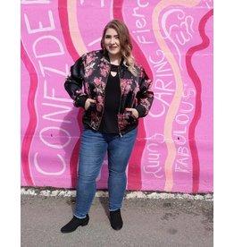 Carreli Jeans Bomber Jacket