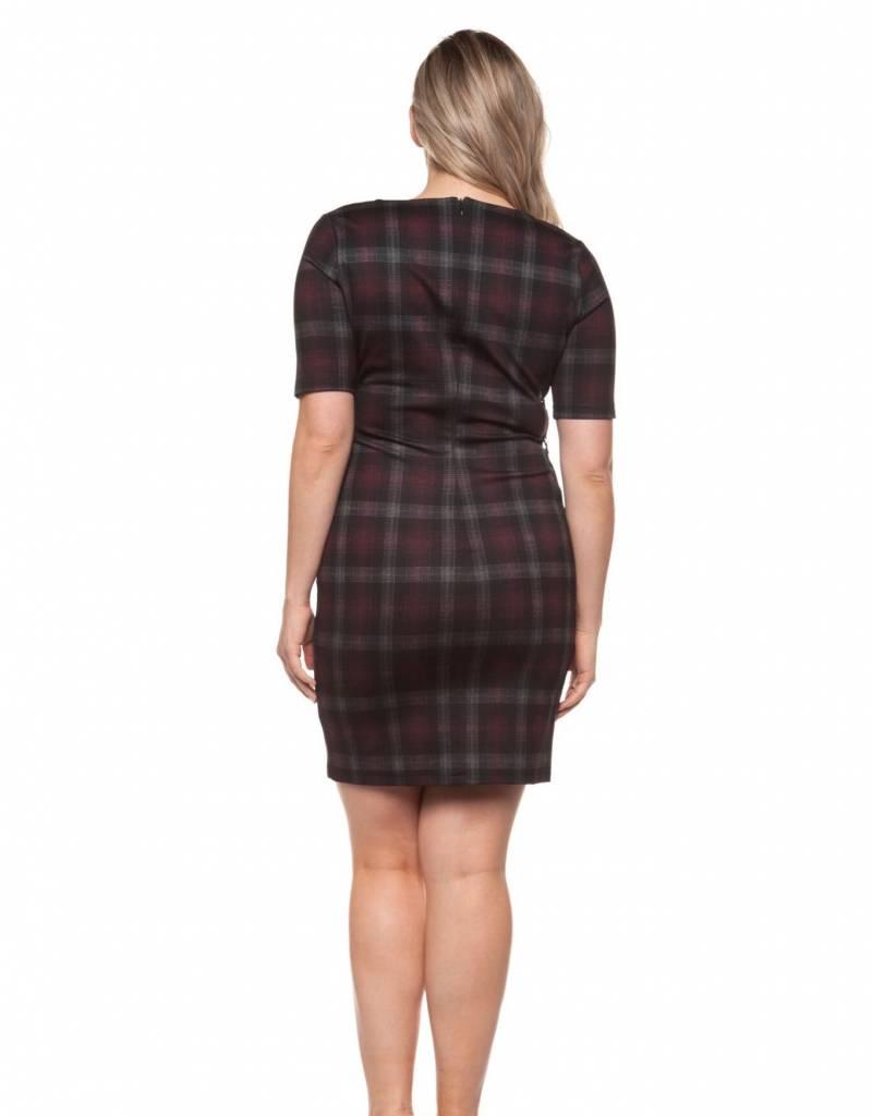 Dex Scoop Neck Dress