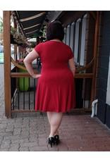 London Times Cowl Neck Dress
