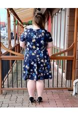 London Times Floral Dress