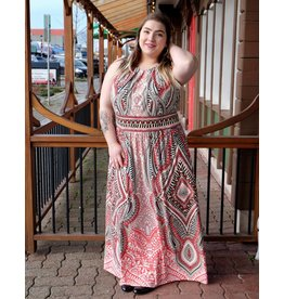 London Times Juliette Maxi Dress