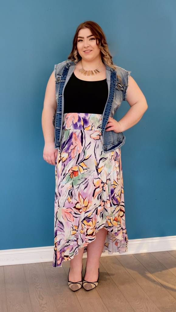 Artex Fashion Spring Bouquet Skirt