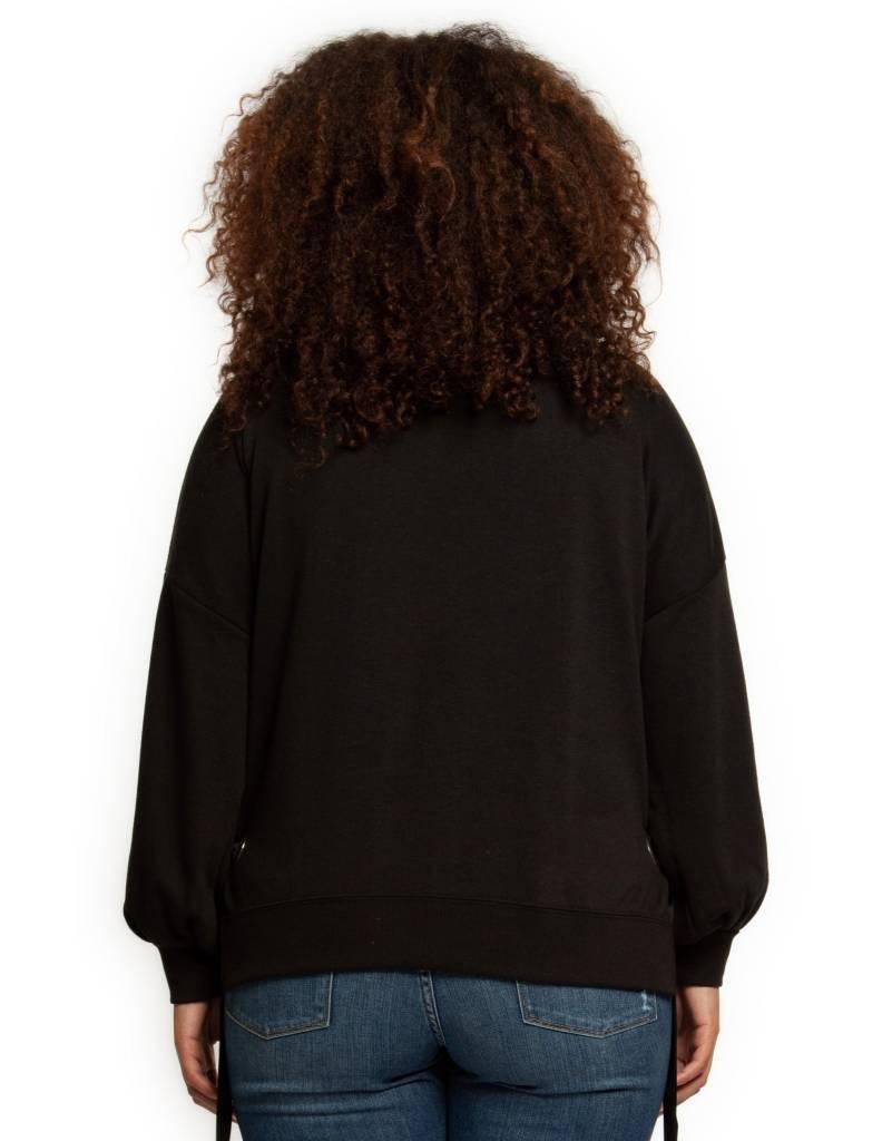 Dex Eyelet Oversized Sweater