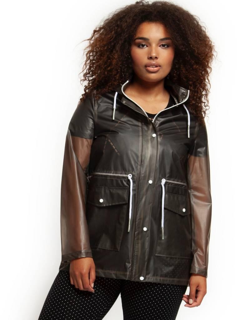 Dex Semi Sheer Rain Jacket
