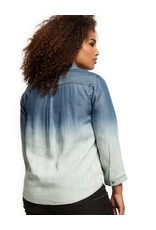 Dex Frosted Dip Dye Top