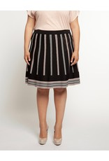 Dex Triangle Print Skirt