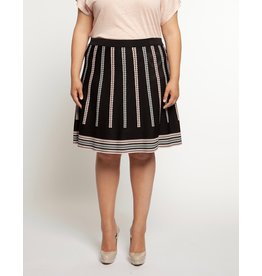 Dex Triangle Print Skirt