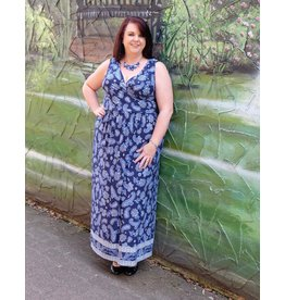 London Times Calista Maxi Dress