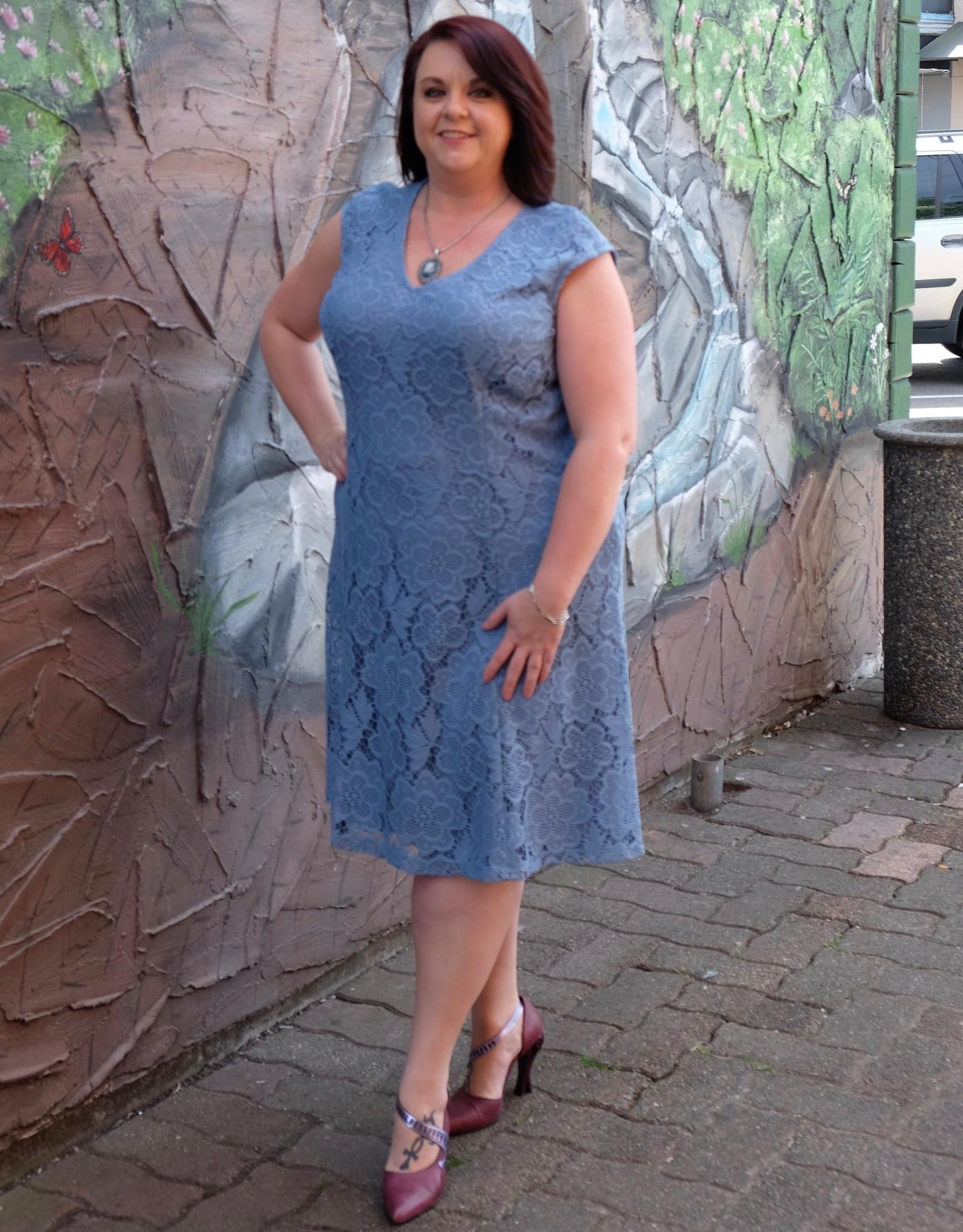 London Times Colette Lace Dress